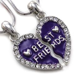 my bff and i friendship necklaces
