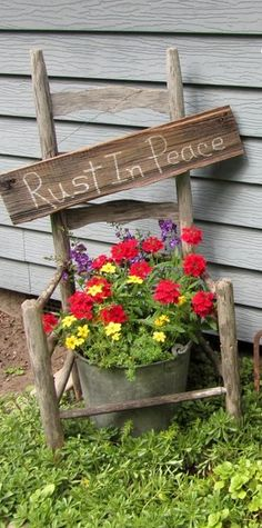 Organized Clutter: Garden Junk Doesn't Last Forever