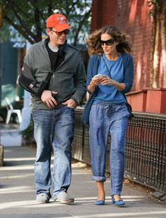 Sarah Jessica Parker - Matthew Broderick and Sarah Jessica Parker Out in NYC