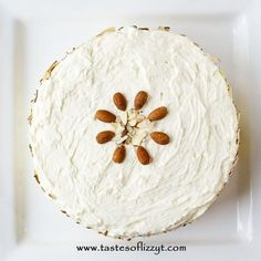 Light, moist and velvety, this Almond Cream Cake has a homemade cooked, whipped frosting that pairs perfectly with the almond cake. Decorate w/ sliced almonds.