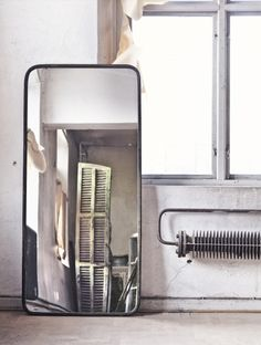industrial interior mirror