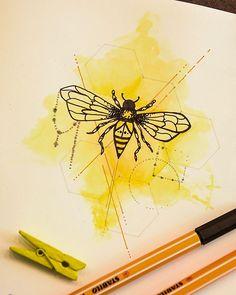 Die 15 Besten Bilder Von Biene Malen In 2017 Bees Coloring Books
