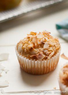Paleo kokos-citroen muffins