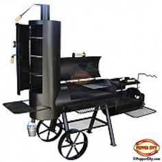 Cactus Jack BBQ Smoker...Mark would EXPLODE with joy if he saw this!