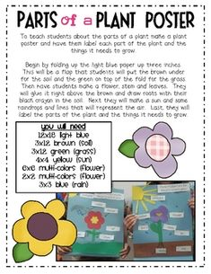 This is a mini-unit of plant themed activities that incorporate literature, math and creative writing.Activities include:- parts of a plant a...