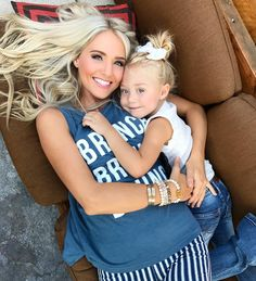 brunchin' with her cute little babe in the Secret Life Tank Cole And Savannah, Savannah Rose, Savannah Chat, Mom And Baby Outfits, Cute Outfits For Kids, Mom Daughter, Baby Sister, Forever And Forava, Just Dance Kids