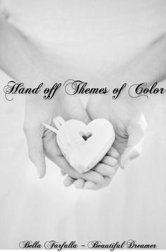 Color Poetry. Good morning girls. This week we will be pinning our favorite Color Themes. Please pin 8-11 pins and then use this as the Hand off Pin and let the next pinner know what Color Theme you have selected for them. Thank you girls.