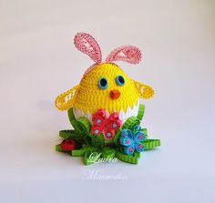 quilling my passion: Decoratiuni pt Paste/Easter decorations