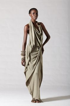 Zen And The Art Of Scarf Cocooning ~ Donna Karan