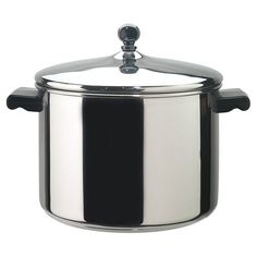 Faberware_ø Classic Series II 8 Quart Covered Stockpot Stainless Steel with Glass Lid ** Check this awesome image  : Steamers, Stock and Pasta Pots