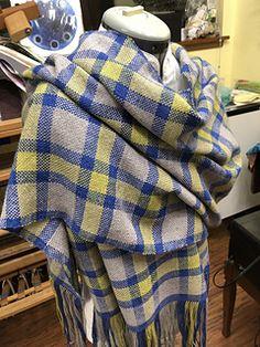 Ravelry: LittleHipkitty's Plaid Wrap Plaid Scarf, Ravelry, Hand Weaving, Mad, Fashion, Moda, Hand Knitting, Fashion Styles, Fashion Illustrations