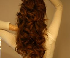 soft curls #bridal #hair #long #curls