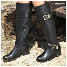 winter boots - bota cano longo - montaria Inverno 2015 - Ref. 15-1201