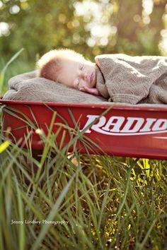 wagon baby @Erin B B B Gibson