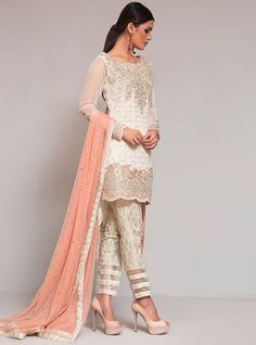 Colors & Crafts Boutique™ offers unique apparel and jewelry to women who value versatility, style and comfort. For inquiries: Call/Text/Whatsapp Pakistani Wedding Outfits, Pakistani Dresses, Indian Dresses, Pakistani Clothing, Bridal Outfits, Pakistan Fashion, India Fashion, Asian Fashion, Moda India