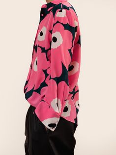 Marimekko's online home for the Pavot shirt in Fall Fashion. Vintage Shirts, Vintage Outfits, Vintage Fashion, Kids Fashion, Autumn Fashion, Green Fashion, Fashion Forecasting, Marimekko, Stylish Dresses