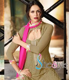 Bring forth the fashion feeling in you with the finest Indian Georgette material. Order your favorite, only from Shestyle.