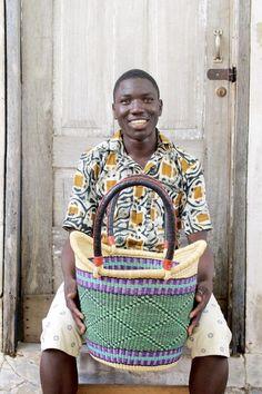 Nyariga Basket (Large) by David Abeneh