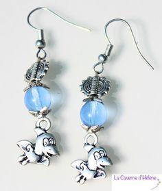 boucles d'oreilles avec pendant oiseau, titi, cadeau pour femme, fille, moins de 10, joli cadeau, fait main, cadeau fête des mères,longues