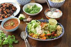 This mexican quinoa bowl is packed with flavour and health. It is ready in under 30 minutes and is just $7 a serve.