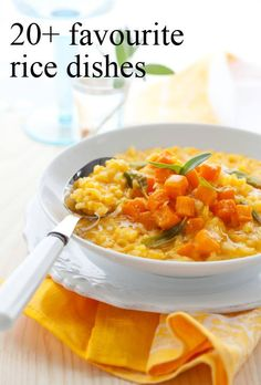 Got some rice in the pantry? Why not make one of these recipes for dinner? YUM!