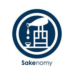 日本酒を学び、自分好みのお酒と出会えるアプリ「Sakenomy」のロゴマーク。…