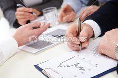 Business graphs by pressmaster - Lizenzfreies Foto
