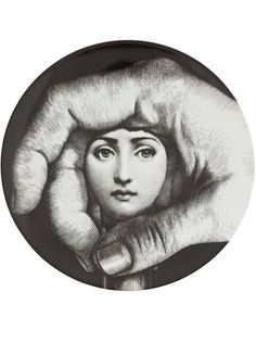 Mailand 1913 - Mailand 1988 The Italian painter, sculptor, craftsman, and decorator Piero Fornasetti cultivated a highly or. Piero Fornasetti, Fornasetti Wallpaper, Illustration Arte, Italian Painters, Art Academy, Musa, You Draw, Plates On Wall, Oeuvre D'art