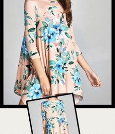 Floral Tunic Sharkbi