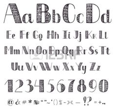 Gallery For > Cool Fonts To Draw Alphabet