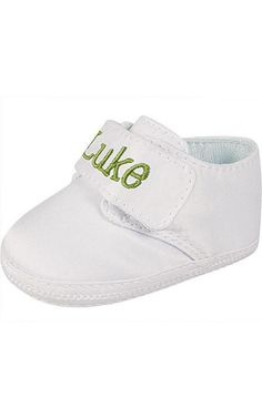 Baby Deer White Satin Shoes