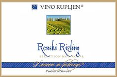 2013 Kupljen Ljutomer-Ormoz Renski Riesling 750ml * Details can be found by clicking on the image.