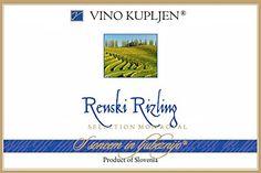 2013 Kupljen Ljutomer-Ormoz Renski Riesling 750ml *** Learn more by visiting the image link.