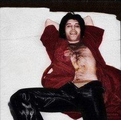 Freddie Mercury. Queen. 1970s. rare.