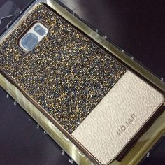 Galaxy Note 5 Phone Case Gold Crystals & Leather Gorgeous Galaxy Note 5 Phone case. New Design, top use bling bling diamond, PU leather on bottom. Licensed premium diamond rhinestone, not easy fall off. Assemble selected color rhinestones, grace and luxury. Exquisite production proces,the thickness of only 0.8mm, very thin, so you feel like thin touch bare. Elegant design, make your phone outstanding and special! Hojar Accessories Phone Cases