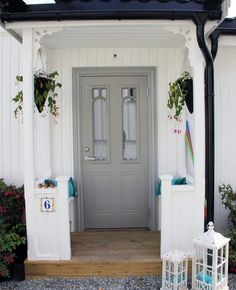 Ny kledning – Bergene Holm Blogg Home Focus, Nordic Home, Garden Inspiration, Country Style, Villa, Farmhouse, Cottage, Exterior, Craftsman