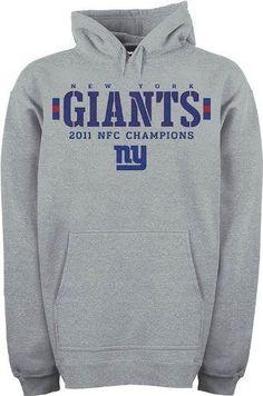 reebok nfl NFL New York Giants 2011 NFC Conference Champions Hooded  Sweatshirt Men s Reebok.  19.56 reebok nfl jerseys 80ba710d8