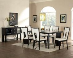 Modern Dining Room Table Set Awesome Contemporary Dining Room Sets for Beloved Family Traba Homes Leather Dining Room Chairs, Dining Table Chairs, A Table, Iron Table, Table Legs, Contemporary Dining Room Furniture, Dining Furniture, Silver Furniture, Office Furniture