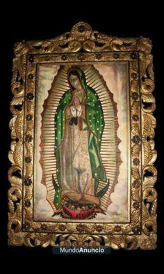 Virgen de Guadalupe en repujado artístico