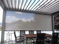TRS Sonnenschutz - Pergola mit drehbaren Aluminium-Lamellen Camargue