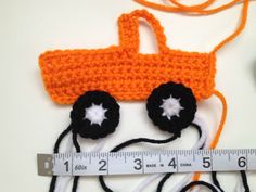 Free Crochet Pattern: Pick-Up Truck Applique