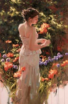 """Poppies and Amethyst"" Richard S. Johnson"