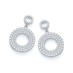 J.Jaz Micro Pave Fancy Drops Cz  £89 www.diamonds2designs.com