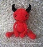 Red Devil - Free Amigurumi crochet pattern