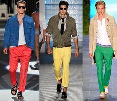 Para los hombres, la moda también es el color... Súbele al contraste!!!!