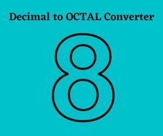 Decimal To Octal Converter Online #technovichar #decimal #octal #converter #tools #webdevelopment #javascript #nodejs #expressjs Decimal Number, Interesting Information, Web Development, Writing, Being A Writer