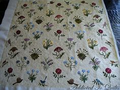 William Morris applique quilt