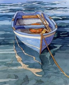 Bill Drysdale's watercolor paintings of Cinque Terra, Florence, and Tuscany. Watercolor artwork of boats in the Mediterranean Sea. Watercolor paintings of Greece, the Colusseum, Nafpaktos and Roman ruins.