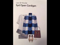Leo Nicole Syd Open Cardigan