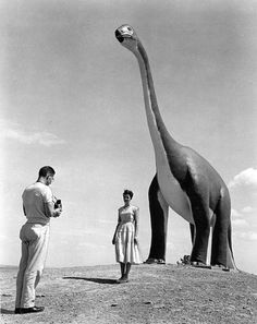 Dinosaur park in South Dakota, 1960  http://keystone.crchealth.com/